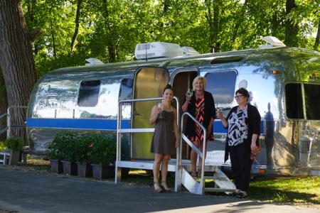 Airstream Restroom Trailer
